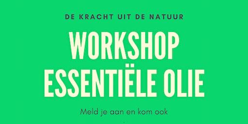 Workshop essentiële olie