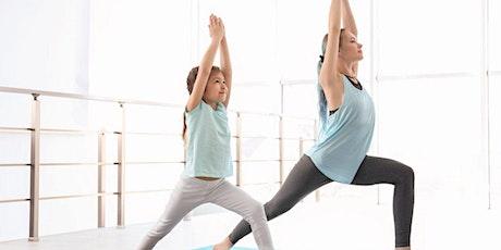 Yoga chat en famille (parent-enfant) billets