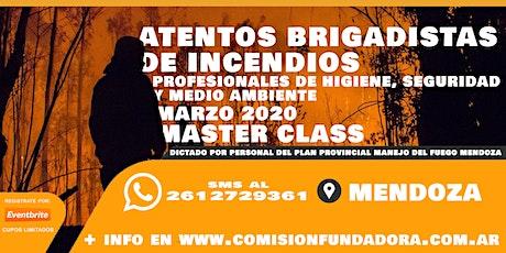 MASTER CLASS  en MANEJO DEL FUEGO FORESTAL entradas