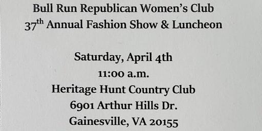 Bull Run Republican Women's Club 37th Annual Fashion Show & Luncheon