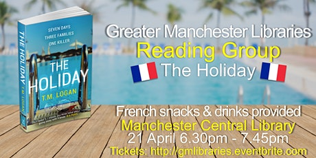 Greater Manchester Reading Group: The Holiday tickets