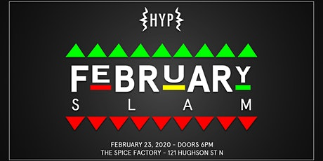 HYP FEBRUARY SLAM! tickets