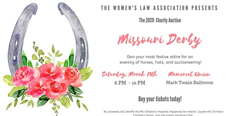 2020 WLA Charity Auction tickets