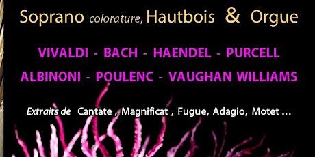 Soprano colorature, Hautbois &Orgue tickets