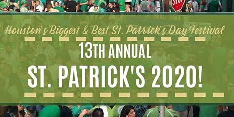 St. Patrick's Day Festival 2020 - West/Katy tickets