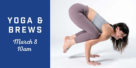Yoga + Brews tickets
