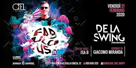OMAGGIO DONNA / FABULOUS - The Party with DE LA SWING biglietti