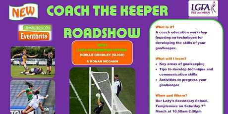 Coach The Keeper Workshop - Templemore tickets