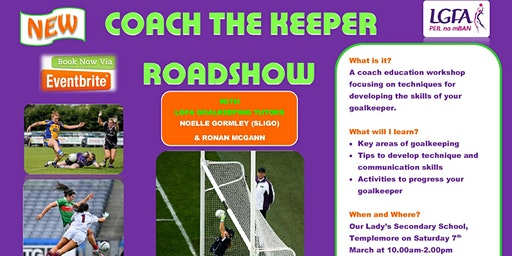 Coach The Keeper Workshop - Templemore