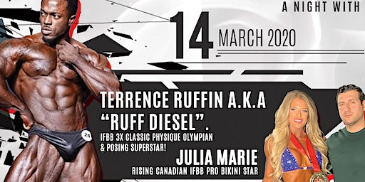 A night with Terrence Ruffin and Julia Marie