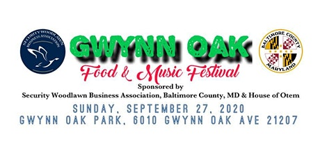 Gwynn Oak Food & Music Festival 2020 tickets