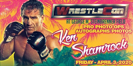 Ken Shamrock at WrestleCon 2020 - Tampa FL tickets