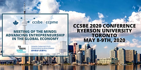 CCSBE 2020 Conference - Ryerson University, Toronto tickets