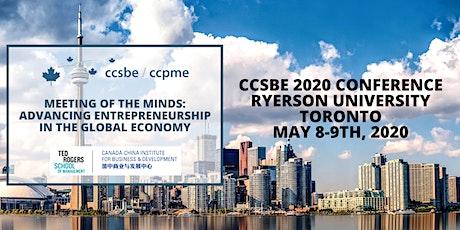 CCSBE 2020 Conference - Ryerson University, Toronto tickets
