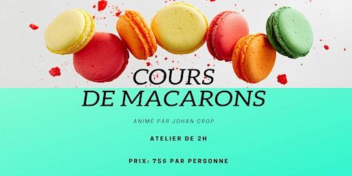 Cours de macarons