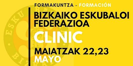 ESKUBALOI CLINIC / Clinic de Balonmano entradas