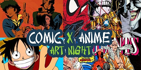 FREE EVENT : Comic & Anime Night tickets