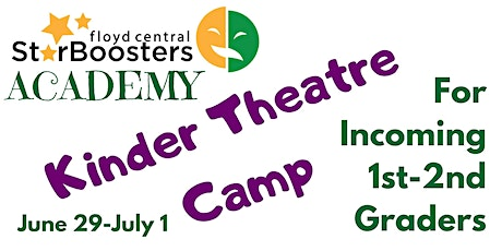 Star Booster Academy Kinder Theatre Camp tickets