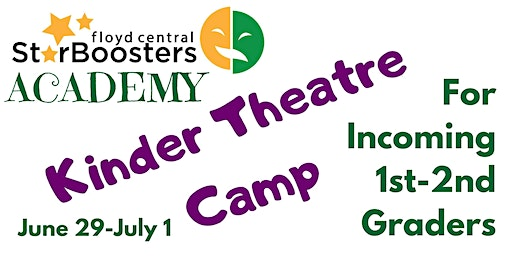 Star Booster Academy Kinder Theatre Camp