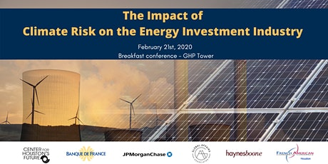 The Impact of Climate Risk on the Energy Investment Industry tickets