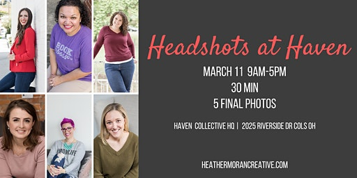 Headshots at Haven