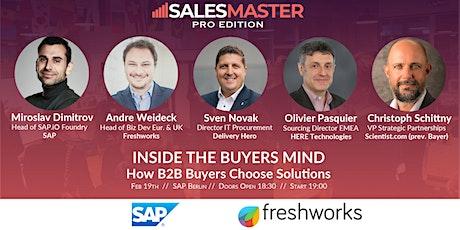 SalesMasterPRO | INSIDE THE BUYERS MIND: How B2B Buyers Choose Solutions tickets