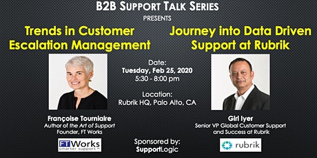 B2B Support Talk Series tickets
