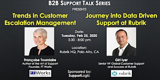 B2B Support Talk Series