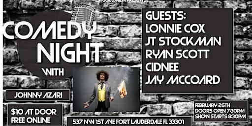 "Comedy Night with ""Johnny Azari"" at Next Door at C&I"