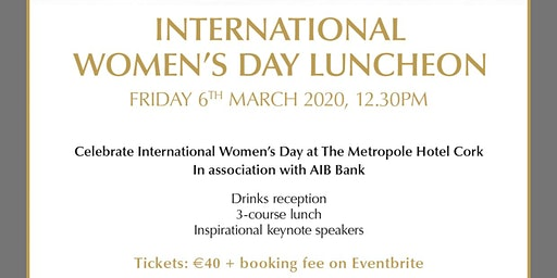 International Women's Day Lunch #EachForEqual