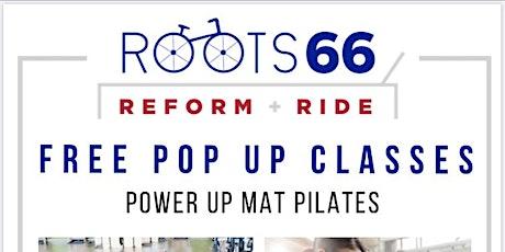 Free Pop Up Pilates Mat Class tickets