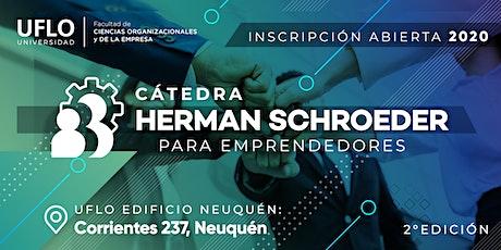 Cátedra Herman Schroeder para Emprendedores entradas