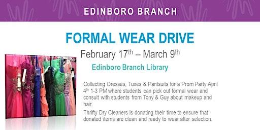Formal Wear Drive (EDB)