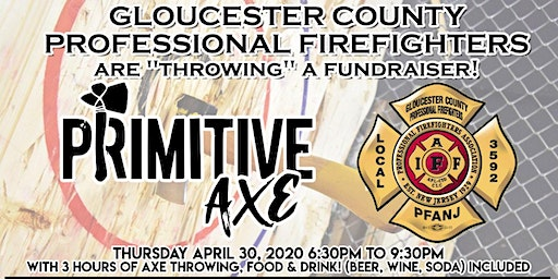 IAFF Local 3592 Primitive Axe Throwing Fundraiser
