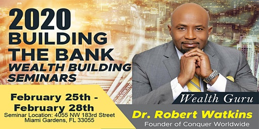 Building the Bank Wealth Seminars