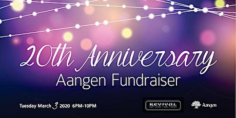 Aangen Celebrates 20 Years of Community Service tickets