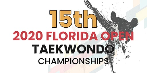 15th Florida Open Taekwondo Championships