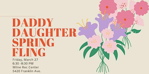 Daddy Daughter Spring Fling