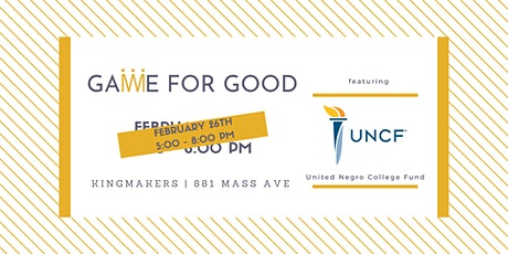 Game for Good: United Negro College Fund (Indianapolis) tickets