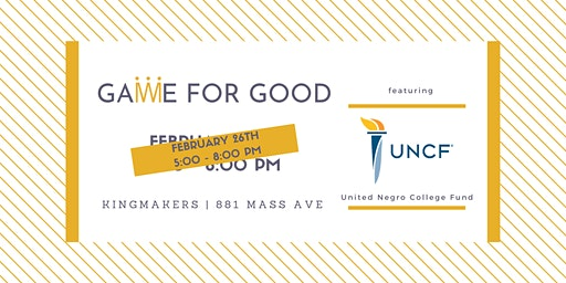 Game for Good: United Negro College Fund (Indianapolis)