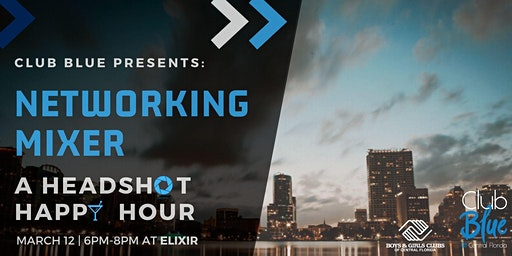 Networking Mixer: A Headshot Happy Hour