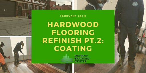 Hardwood Flooring Refinish Workshop Pt. 2: Coating