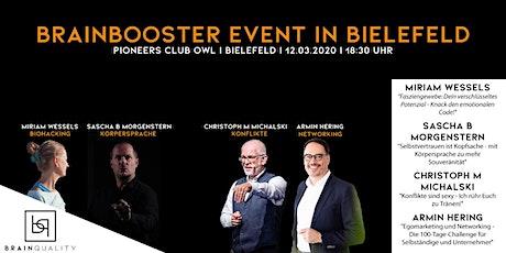 BrainBooster - Impulsvorträge für deinen Erfolg Tickets