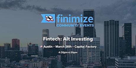 Fintech: Alt Investing tickets