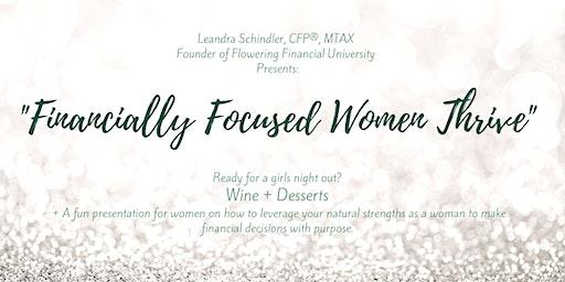 Financially Focused Women Thrive