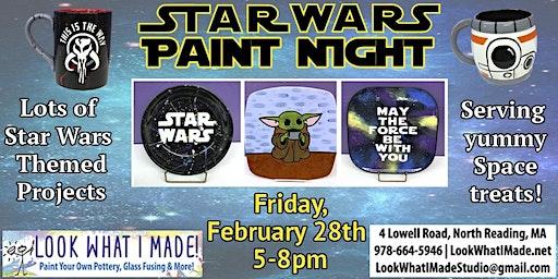 Star Wars Paint Night