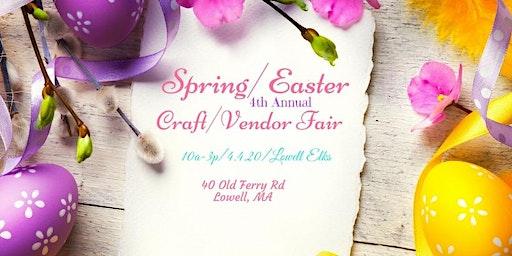Spring/Easter 4th Annual Craft/Vendor Fair