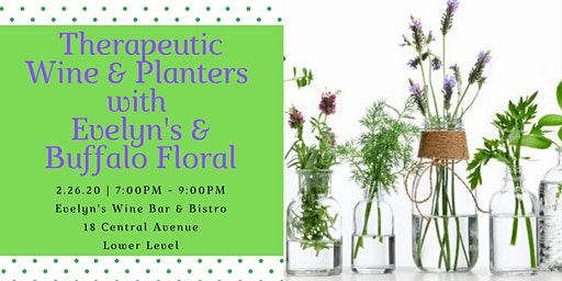 Therapeutic Plants with Buffalo Floral & Evelyn's