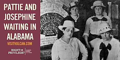 Pattie and Josephine Waiting in Alabama tickets