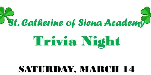 St. Catherine of Siena Academy Trivia Night 2020